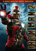 Iron Man 2 Two Disc/Side DVD