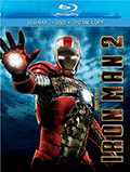Iron Man 2 Two Disc/Side Bluray