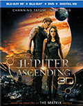 Jupiter Ascending 3D Bluray