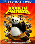 Kung Fu Panda Bluray/DVD Combo Pack DVD
