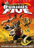 Kung Fu Panda Secrets of the Furious Five DVD