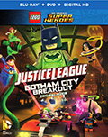 Lego Justice League: Gotham City Breakout Bluray