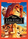 Lion King II Combo Pack DVD