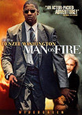 Man on Fire DVD