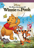 The Many Adventures of Winnie The Pooh 2013 Re-release DVD