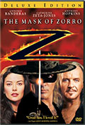 The Mask of Zorro Deluxe Edition DVD
