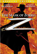 The Mask of Zorro Special Edition DVD