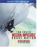 Mission: Impossible- Rogue Nation Target Exclusive Bonus Bluray