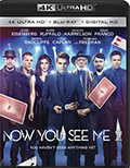 Now You See Me 2 UltraHD Bluray