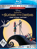 Nightmare Before Christmas Sing-Along Edition Bluray