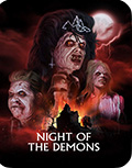 Night of the Demons Limited Edition Steelbook Bluray