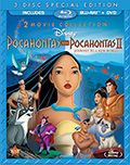 Pocahontas Double Feature Bluray