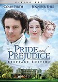 Pride and Prejudice Keepsake Edition DVD