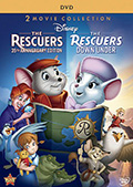 The Rescuers Double Feature DVD