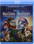 The Rescuers Double Feature Bluray