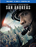 San Andreas Combo Pack DVD