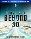 Star Trek Beyond 3D Bluray