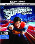 Superman The Movie 40th Anniversary Edition UltraHD Combo Pack