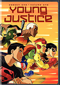 Young Justice: Season 1 Volume 1 DVD