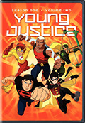 Young Justice: Season 1 Volume 2 DVD