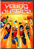 Young Justice: Season 1 Volume 3 DVD